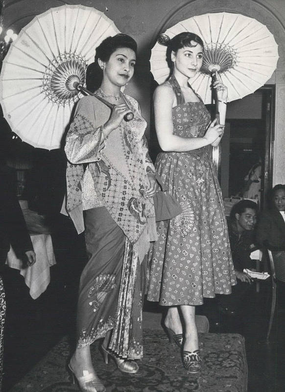 retro Images Archive Poster featuring the photograph How Do You Like These Batik-clothes ? by Retro Images Archive