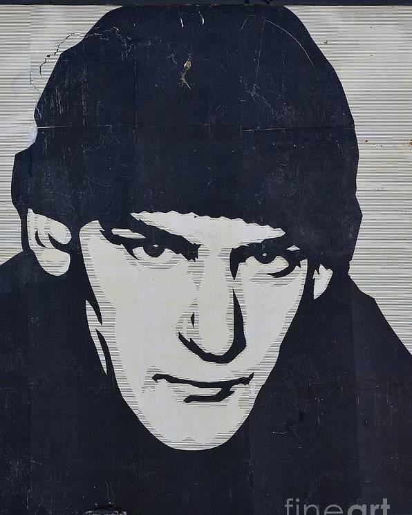 Shepard Fairey Poster featuring the photograph Ian Mackaye by Allen Beatty