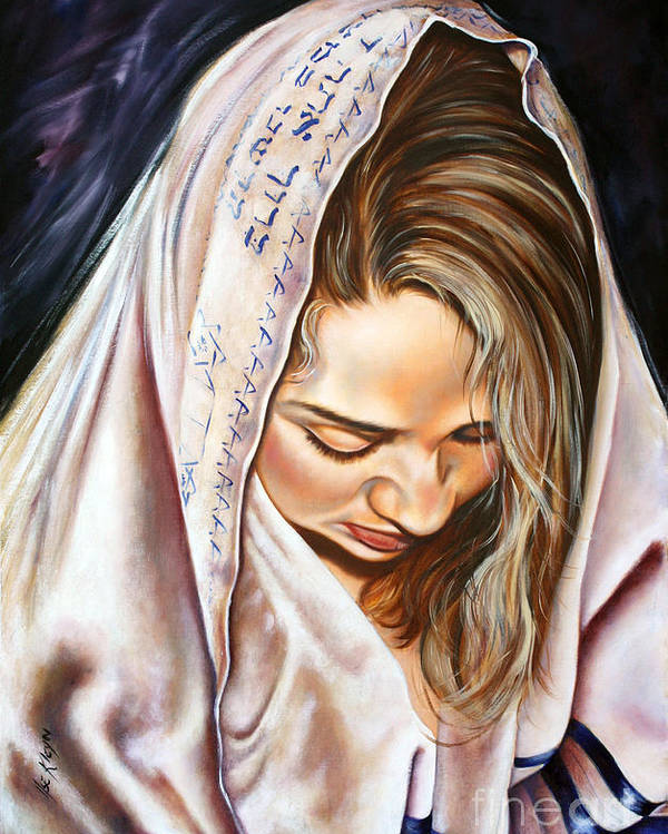 Biblical Poster featuring the painting If My People by Ilse Kleyn
