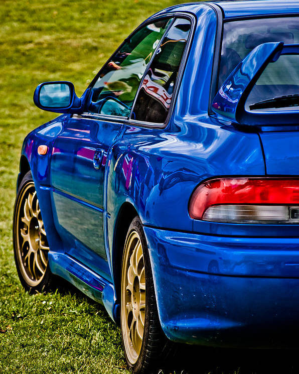 Subaru Impreza Poster featuring the photograph Impreza 22b by Phil 'motography' Clark