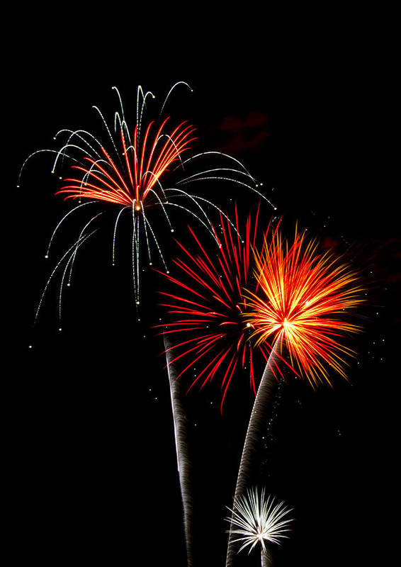 July 4th Poster featuring the photograph Independence Day by Saija Lehtonen