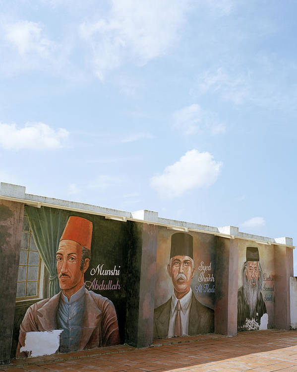 Asia Poster featuring the photograph Intellectuals by Shaun Higson