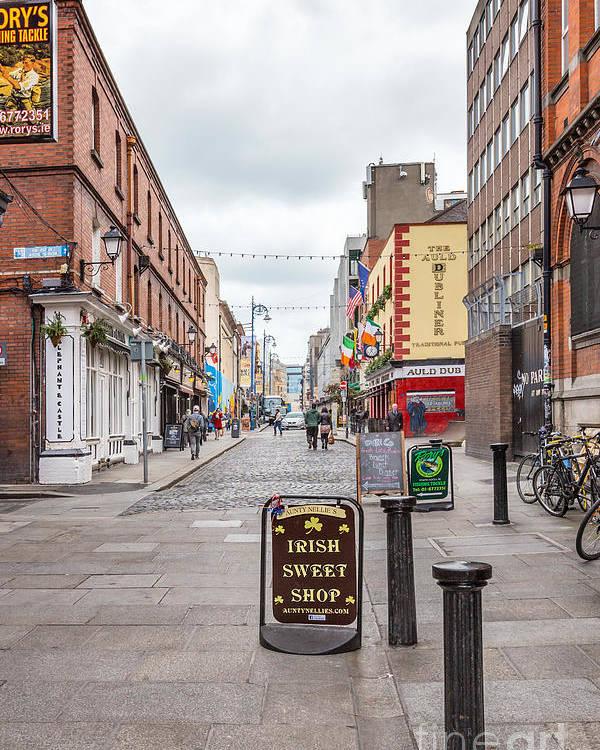 Dublin Poster featuring the photograph Irish Sweet Shop by Evelina Kremsdorf