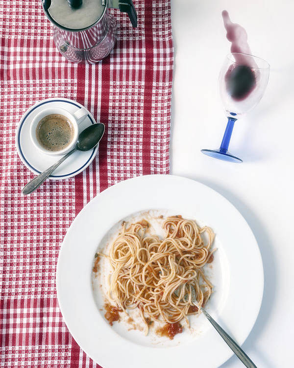 Food Poster featuring the photograph Italian Food by Joana Kruse