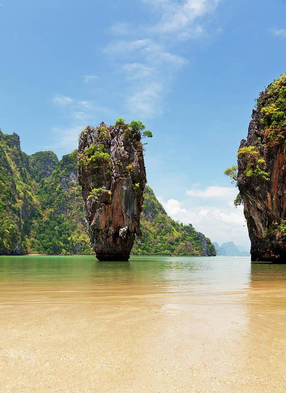 James Bond Island Thailand Poster
