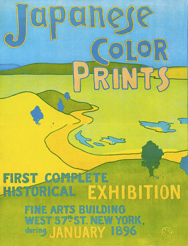 Japanese Color Prints Poster featuring the photograph Japanese Color Prints 1896 by Arthur Wesley Dow
