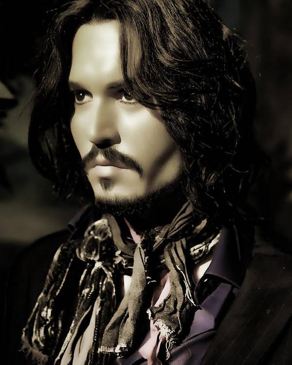 Johnny Depp by Lee Dos Santos