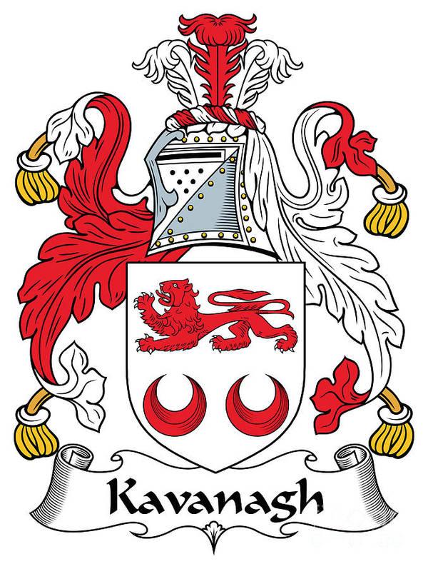 Kavanagh Coat of Arms Irish by Heraldry