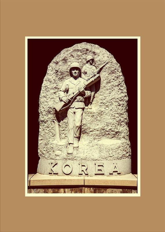 Korea Poster featuring the photograph Korea by Jim Markiewicz