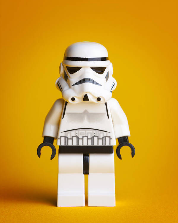 Lego Poster featuring the photograph Lego Storm Trooper by Samuel Whitton
