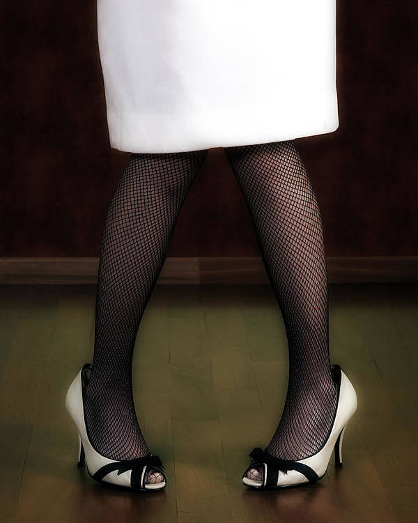 Woman Poster featuring the photograph Legs And Shoes by Joana Kruse