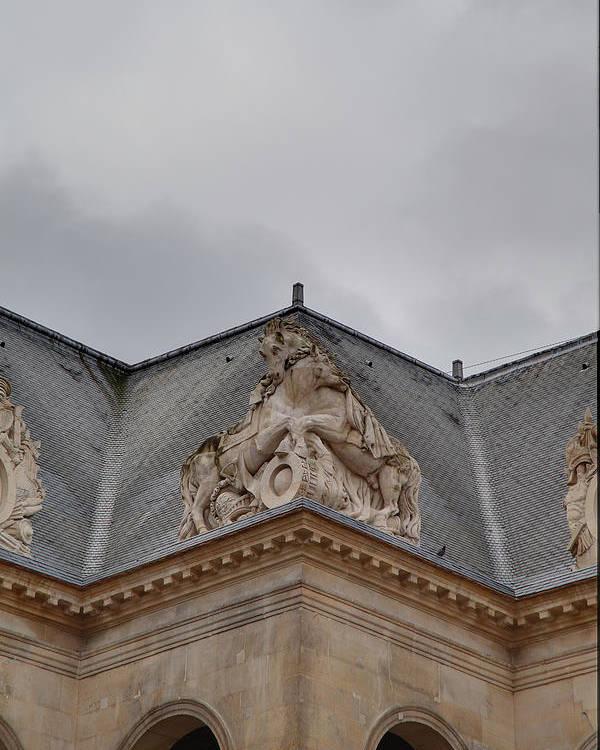 Paris Poster featuring the photograph Les Invalides - Paris France - 011314 by DC Photographer