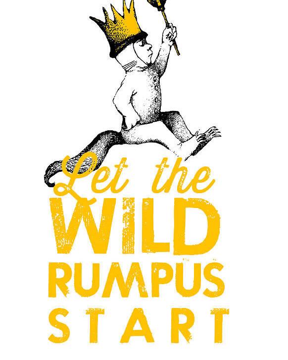 Kết quả hình ảnh cho let the rumpus begin