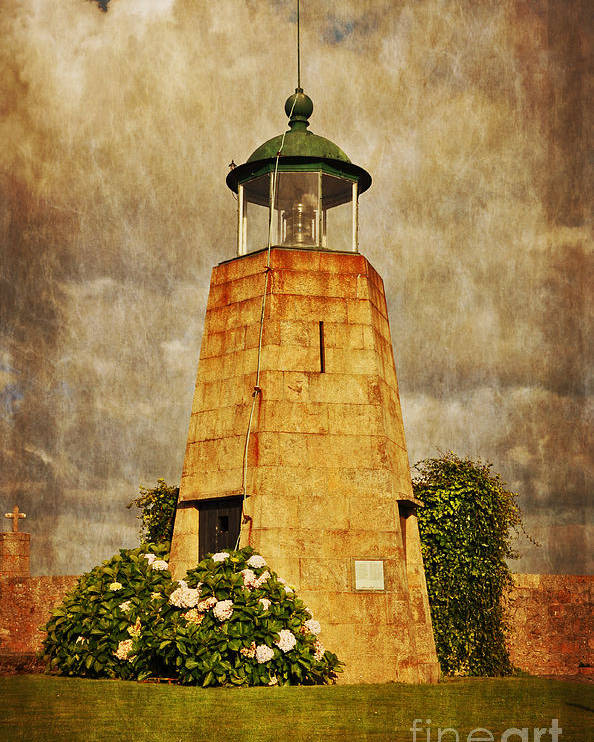 Lighthouse Poster featuring the photograph Lighthouse - La Coruna by Mary Machare