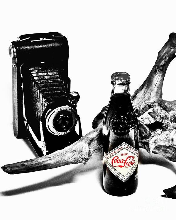 Limited Edition Bottles Poster featuring the photograph Limited Edition Coke - No.008 by Joe Finney