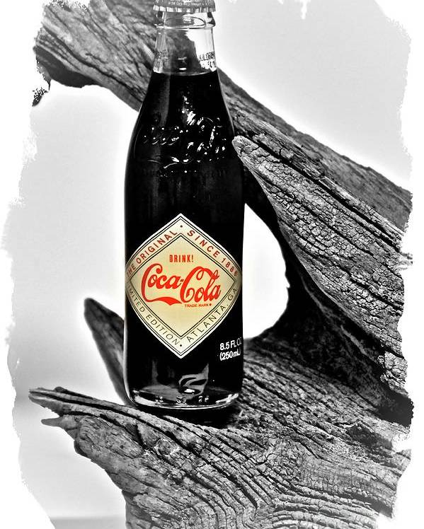 Limited Edition Bottles Poster featuring the photograph Limited Edition Coke - No.15 by Joe Finney