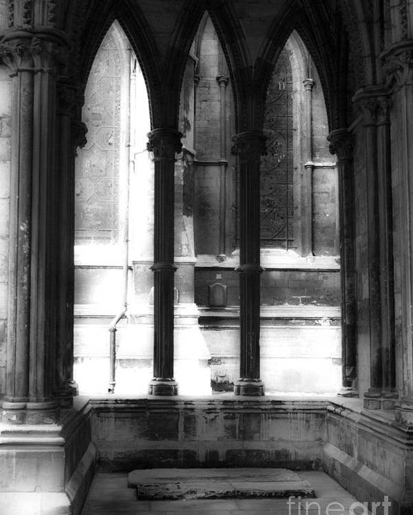 Lincoln Poster featuring the photograph Lincoln Cathedral by George Barker
