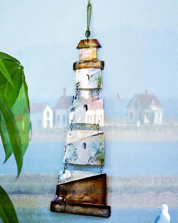 Sea Poster featuring the photograph Living By The Sea - Pacific Ocean by Marie Jamieson