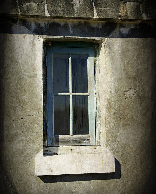 Window Poster featuring the photograph Looking Inwards by Marilyn Wilson