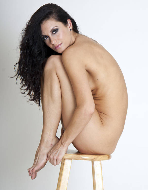Nude Poster featuring the photograph Melissa Is 5 by Joel Gilgoff
