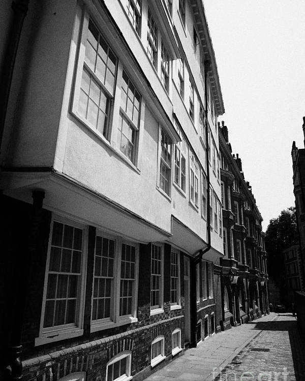 Entrance Poster featuring the photograph middle temple lane London England UK by Joe Fox