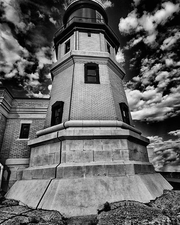 Minnesota Poster featuring the photograph Minnesota Lighthouse by Todd Bielby