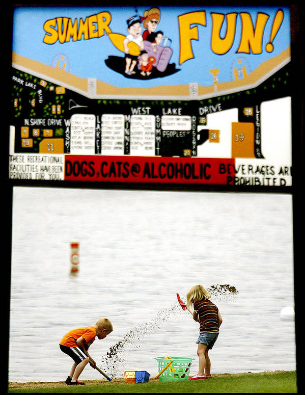 Summer Poster featuring the photograph Minnesota Summer Fun by Bruce Crummy