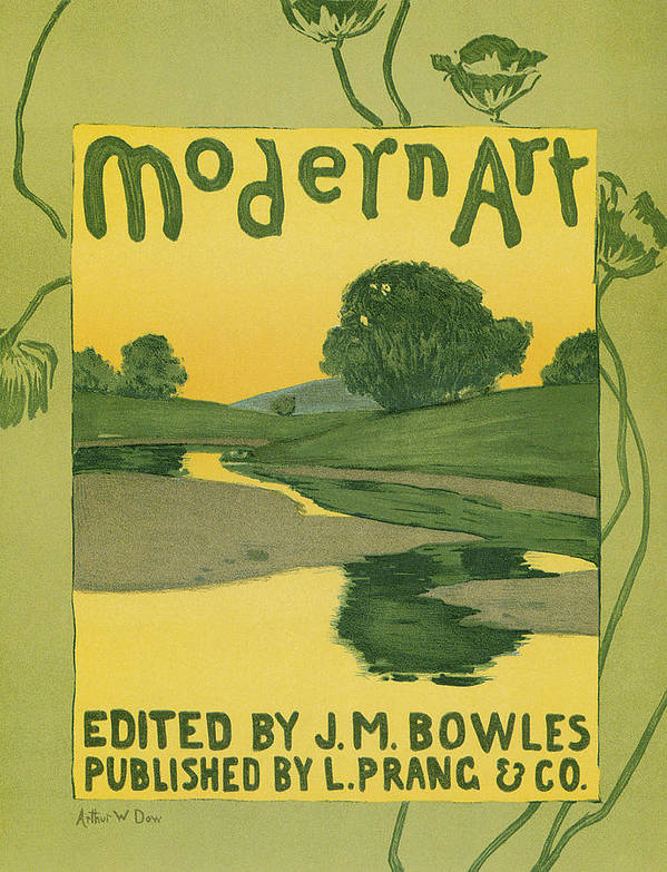 Modern Art Poster featuring the photograph Modern Art 1895 by Arthur Wesley Dow