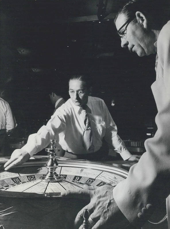 retro Images Archive Poster featuring the photograph More Roulette Whereas Spin In Las Vegas Than In Monte Carlo by Retro Images Archive