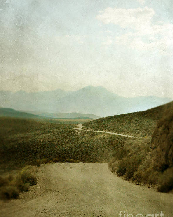 Mountains Poster featuring the photograph Mountain Road by Jill Battaglia