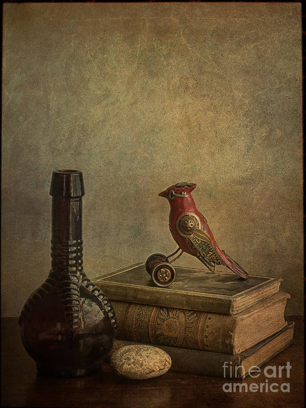Books Poster featuring the photograph My Favorite Things by Terry Rowe