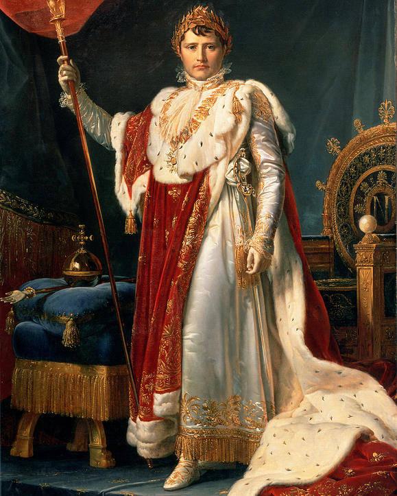 Emperor Poster featuring the painting Napoleon Bonaparte by Francois Pascal Simon, Baron Gerard