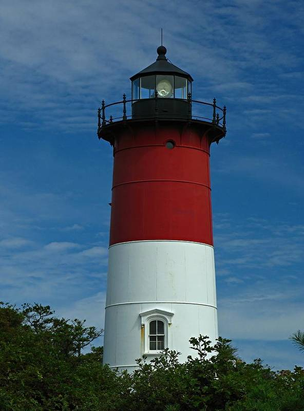 Lighthouse Poster featuring the photograph Nauset Beach Lighthouse by Juergen Roth