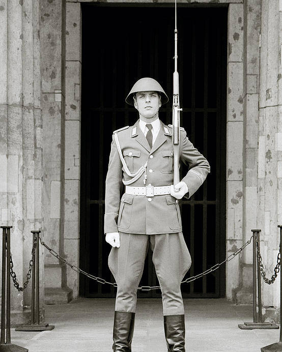 Soldier Poster featuring the photograph The Soldier by Shaun Higson