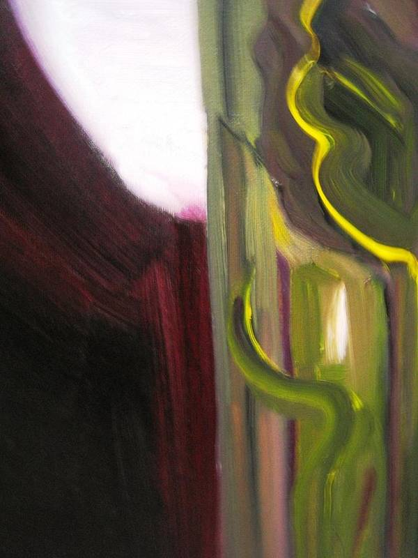 Abstract Poster featuring the painting New Orleans by Rashne Baetz
