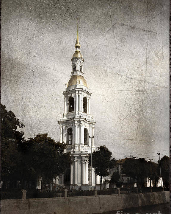 Nikolsky Cathedral Poster featuring the photograph Nikolsky Cathedral by Elena Nosyreva