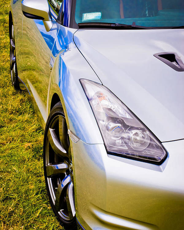 Nissan Gtr Poster featuring the photograph Nissan Gtr 2 by Phil 'motography' Clark