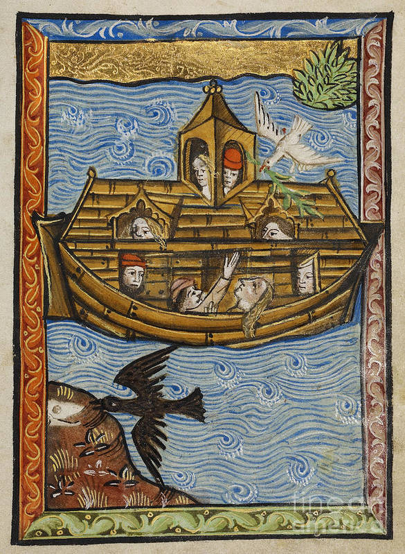 Noah's Ark Poster featuring the photograph Noahs Ark, 1190 by Getty Research Institute