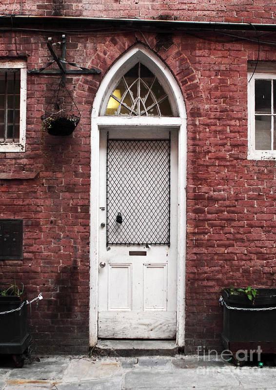 Nola Door Poster featuring the photograph Nola Door by John Rizzuto