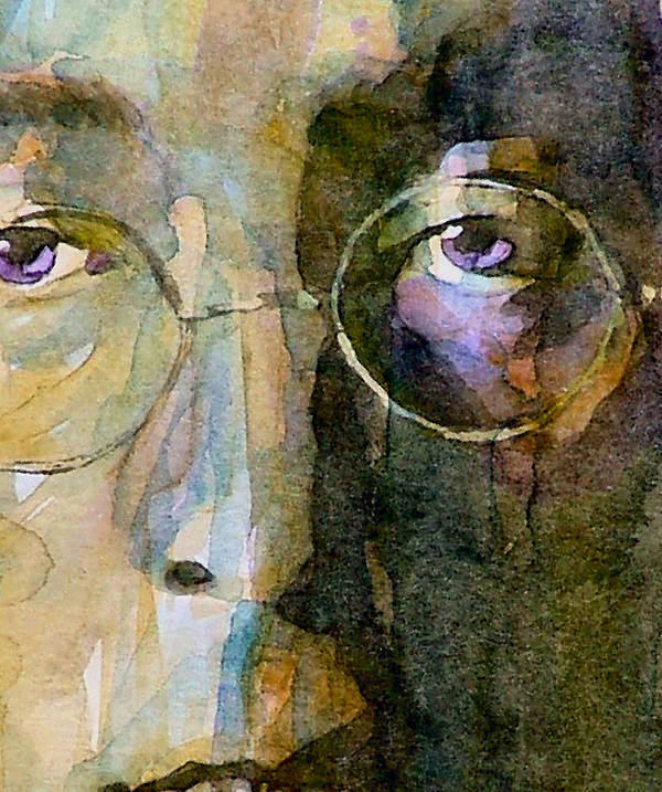 John Lennon Poster featuring the painting Nothin Gonna Change My World by Paul Lovering