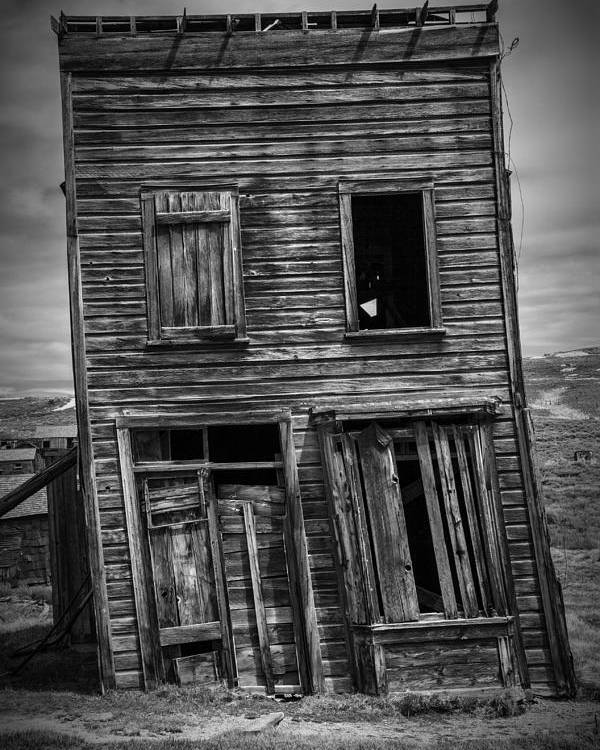 Bodie Poster featuring the photograph Old Bodie Building by Garry Gay