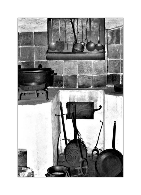Cast Iron Pans Poster featuring the photograph Old Cast Iron Cooking by Michael Faryma