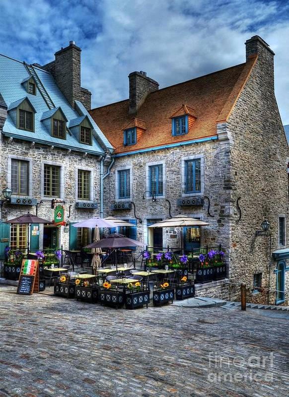 Quebec Poster featuring the photograph Old Quebec City by Mel Steinhauer