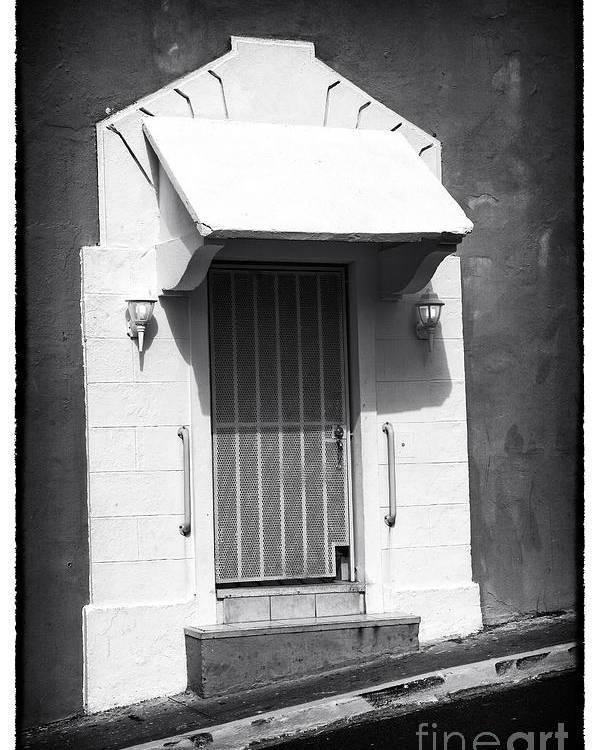 Old San Juan Door Poster featuring the photograph Old San Juan Door by John Rizzuto