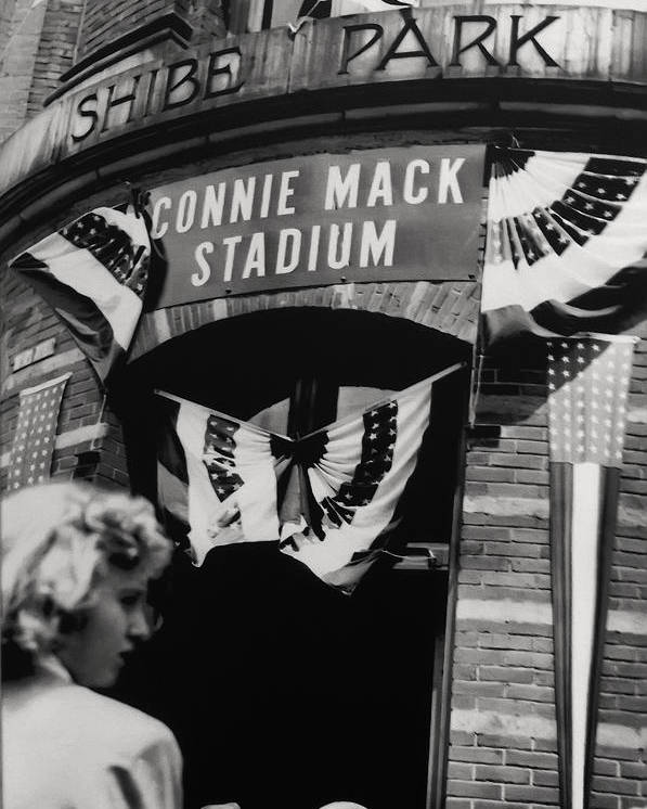Old Shibe Park - Connie Mack Stadium Poster featuring the photograph Old Shibe Park - Connie Mack Stadium by Bill Cannon