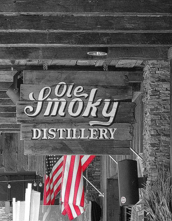 Ole Smoky Distillery Poster featuring the photograph Ole Smoky Distillery by Dan Sproul