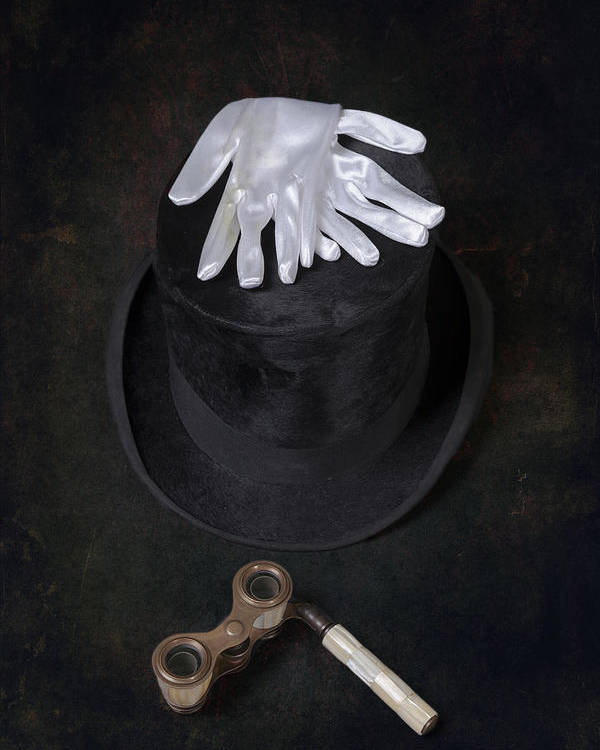 Top Hat Poster featuring the photograph Opera by Joana Kruse