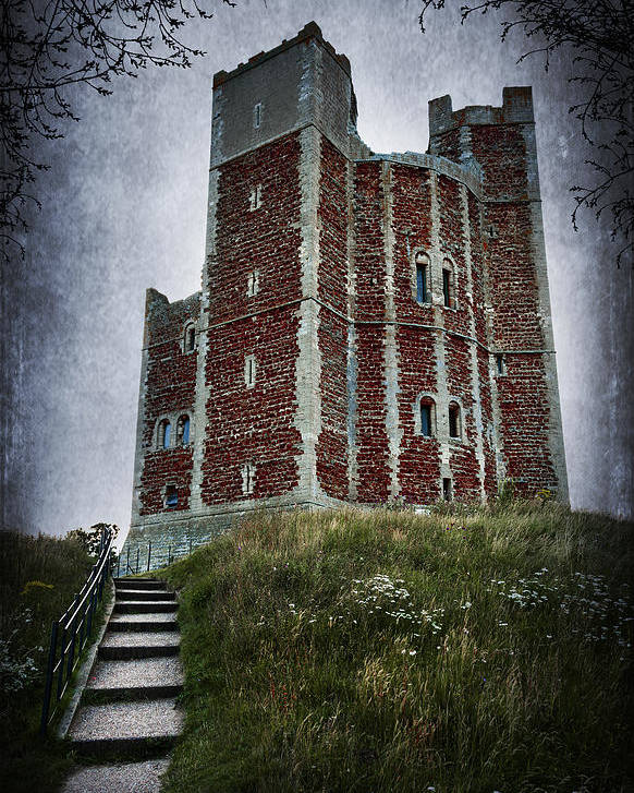 Abbey Poster featuring the photograph Orford Castle by Svetlana Sewell