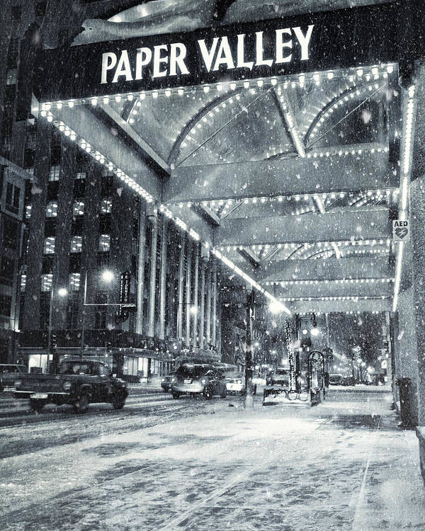 Appleton Poster featuring the photograph Paper Valley by Joel Witmeyer