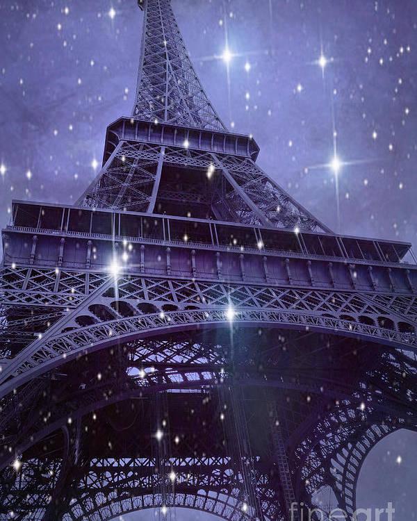 paris eiffel tower starry night photos eiffel tower with stars